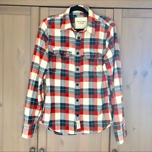 Abercrombie Plaid Button Down Shirt